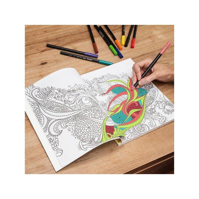 Libro para colorear Mandala Antiestres 117 paginas (68434)