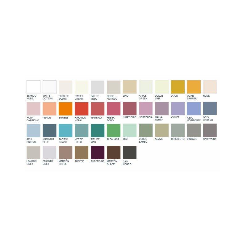 pintura acrilica la pajarita efecto tiza color mint 175 ml