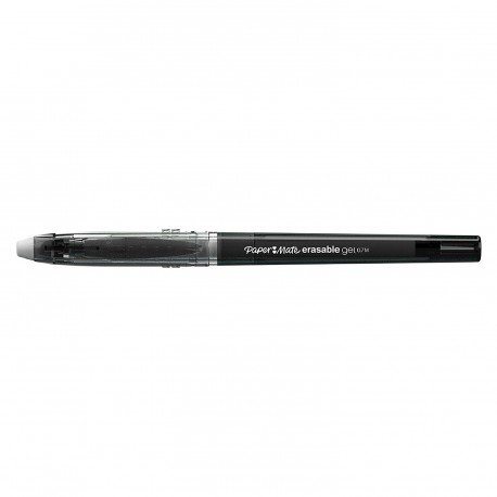 Boligrafo Borrable Paper Mate Erasabel Tinta Gel 0.7 mm color Negro