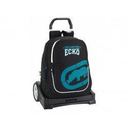 Mochila Escolar Ecko Con Carro Evolution 32x16x44 cm UNLTD