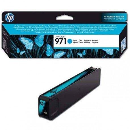 INK-JET HP 971XL OFFICEJET PRO X 451 / 476 / 551 / 576 CIAN 2.500 PAG
