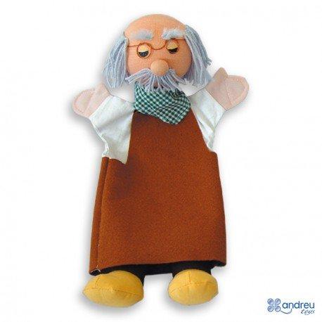 Marioneta de mano Abuelo a partir de 3 años marca Andreutoys