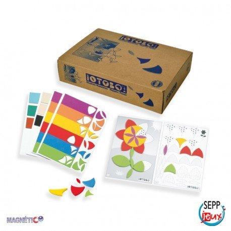 Juego Educativo a partir de 4 años Mosaico Magnético marca Sepp Jeux