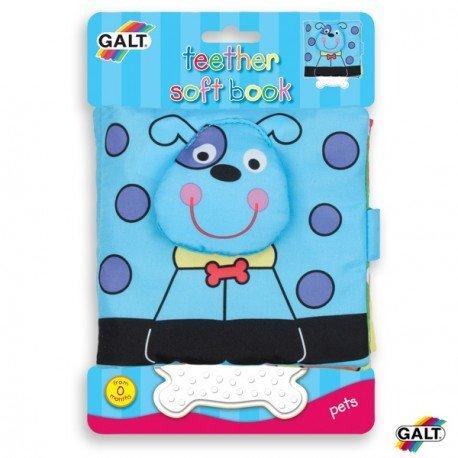 Cuento para bebes Libro suave Perro marca Galt Toys