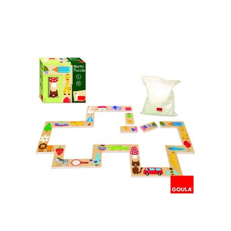 Puzzle Gigante de objetos 28 piezas a partir de 1 año Goula
