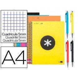 Cuaderno Liderpapel Antartik DIN A4 Tapa Forrada colores surtidos + Caran D'ache