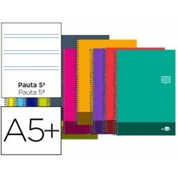 Bloc Cuarto Liderpapel serie Discover pauta de 2,5 mm
