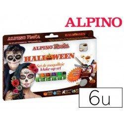 Barra Maquillaje alpino halloween 6 colores surtidos PRUEBA