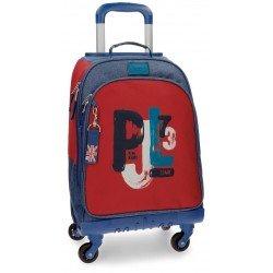Maleta Trolley 44x33x21 cm de Poliéster Pepe Jeans James
