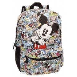 Mochila Mickey Mouse Piel Sintética 32x42x12 cm Comic Viñetas