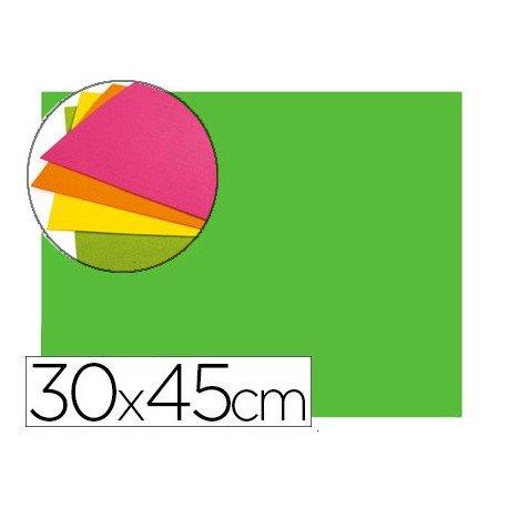 Goma Eva Autoadhesiva color Verde 30x45 cm Bolsa 6 uds