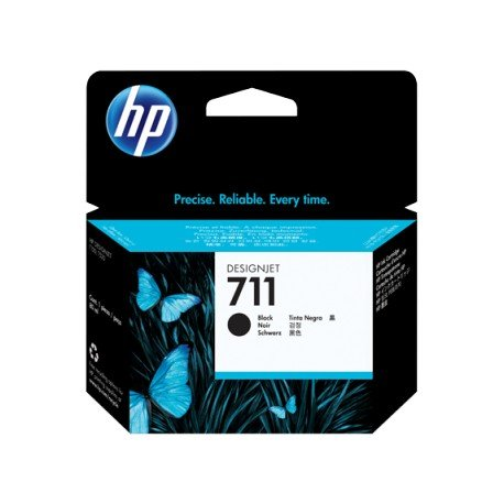 INK-JET HP N. 711 DESIGNJET T120 / T520 NEGRO 80 ML