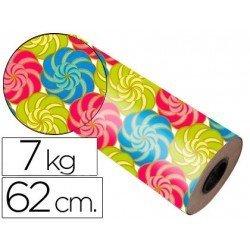Bobina papel tipo verjurado Impresma 62 cm 7 kg star 7033