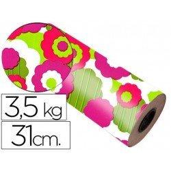 Bobina papel tipo verjurado Impresma 31 cm 3,5 kg star 7008