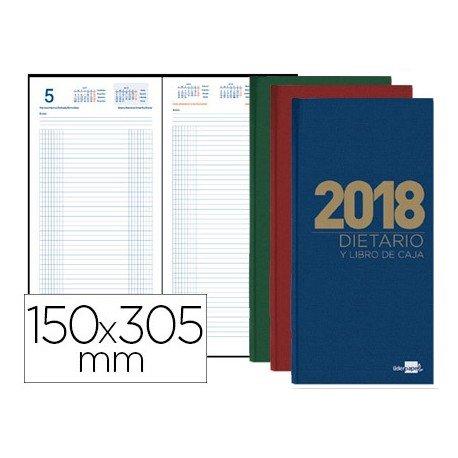 DIETARIO LIDERPAPEL 15X30,5CM 2018 DOS TERCIOS