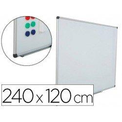Pizarra Blanca Rocada Acero Vitrificado Magnética 120x240 cm