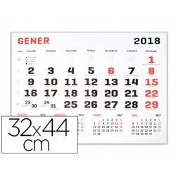 Calendario 2018 de Pared 32x44 cm marca Liderpapel