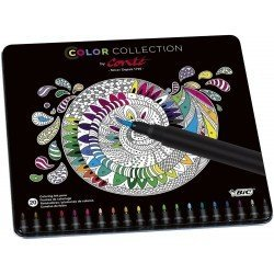 Rotuladores de colores marca Bic Color Collection by Conte 20 unidades