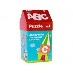 Puzzle Abecedario Casita a partir de 3 años Apli