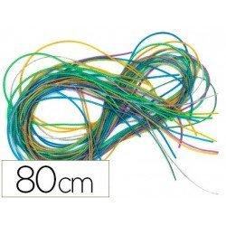 Cordoncito de plastico 80 cm Colores Surtidos itKrea
