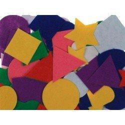 Figuras de fieltro Autoadhesivas Colores surtidos itKrea