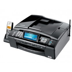 "EQUIPO MULTIFUNCION BROTHER MFC990C 27/22PPM CL/NE, USB 2 COPIADORA ESCANER PLANO FAX LCD 4.2"""" ADF 15 HOJAS"