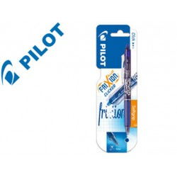 Boligrafo Borrable Pilot Frixion Clicker color azul claro
