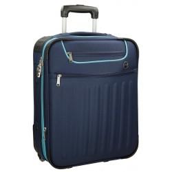 Maleta de cabina 55x39x20 cm Blanda 2 ruedas Movom Brooklyn Azul