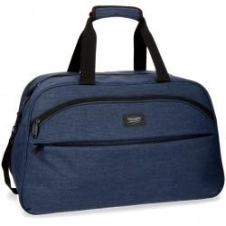 Bolso de viaje 55x35x25 cm de Poliéster Movom Ottawa Azul