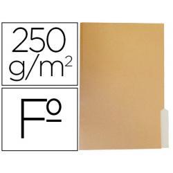 Subcarpeta de cartulina Gio Folio bicolor pestaña derecha 250g/m2