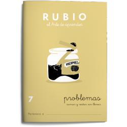 Cuaderno Rubio Problemas nº 7 Sumar y restar sin llevar