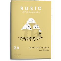 Cuaderno Rubio Operaciones nº 2A Restar llevando