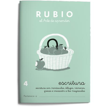 Cuaderno Rubio caligrafia Nº 4