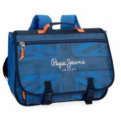 Mochila para portátil Pepe Jeans 39,5x30x5x16,5cm de Poliéster Fabio