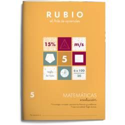 Cuaderno Rubio Matemáticas nº 5 Porcentajes: concepto, operaciones básicas y problemas