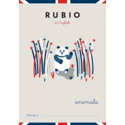 Cuaderno Rubio in English Animals