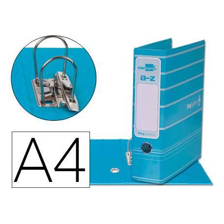Archivador de palanca Liderpapel Filing System A4 Lomo 75 mm color Celeste