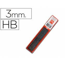 Minas Caran d'ache 3mm HB grafito Estuche 6 minas