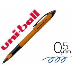 Bolígrafo Roller Uni-Ball UBA-188EL-M Naranja Tinta azul 0,5 mm