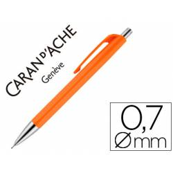 Portaminas Caran D´ache 888 trazo 0,7mm infinite color Naranja