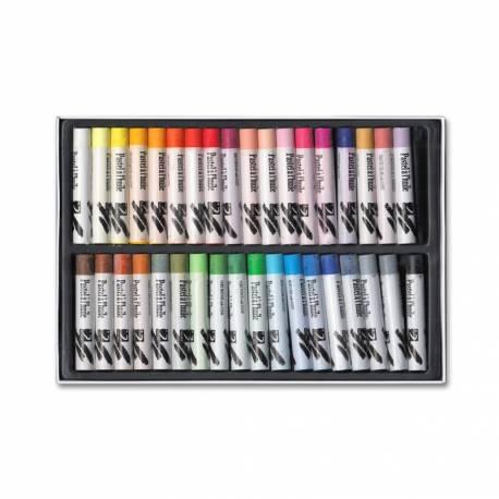 Lápices Pastel Óleo Dalbe Caja 36 Colores Surtidos