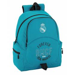 Mochila escolar Real Madrid 43x32x17 cm 3 Equipación 17/18 Adaptable a carro