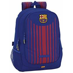 CARTERA ESCOLAR SAFTA F.C. BARCELONA 1 EQUIPACION 17/18 MOCHILA ADAPTABLE A CARRO 320X440X160 MM