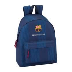 Mochila escolar F.C. Barcelona 42x33x15 cm Tonos Azules