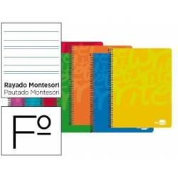 Bloc marca Liderpapel folio Write rayado montessori 5 mm