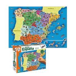 Puzzle a partir de 5 años Provincias de España Diset