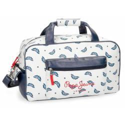 Bolsa de viaje 45x25x24 cm de Piel Sintetica Pepe Jeans Feli