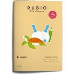 Cuaderno Rubio Vacances 3º Educación Infantil en Catalán