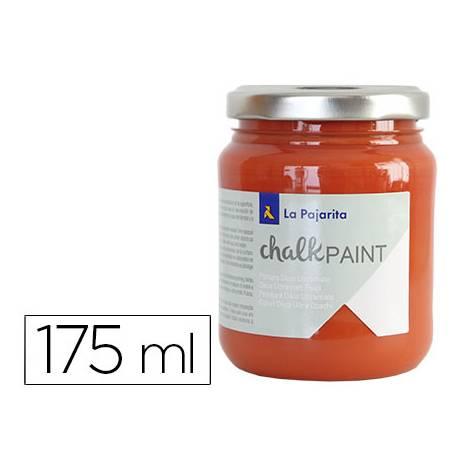 Pintura Acrilica La Pajarita Efecto Tiza Color Naranja Nepal 175 ml Chalk Paint
