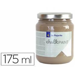 Pintura Acrilica La Pajarita Efecto Tiza Color Marron Eiffel 175 ml Chalk Paint